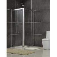 China Brushed Rectangular Shower Enclosure 6MM Tempered Glass for Philippines on sale