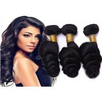 China No Shedding No Tangle  Indian Human Hair Weave For Sexy Black Women wholesale