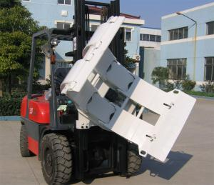 China ISO 0.50cu/M Paper Roll Clamp Attachment For Forklift wholesale