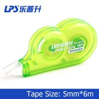 Green Liquid Paper Correction Tape Tear Proof  Dry Write Immediately 6M
