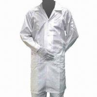 China Anti-static ESD Garment/Clean Room Clothing, Made of 100% Polyester wholesale