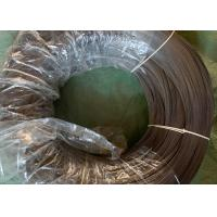China ISO / BV Galvanized Coating Spring Wire Coil High Carbon For Park Fence wholesale