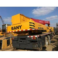 China Used Sany 25t truck crane/sany 50ton crane/QY25C mobile truck crane wholesale