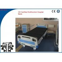 Quality Good Qualty Plastic CE Certified Multifunctional ICU Hospital Bed Medical Treatment for sale