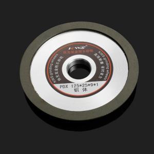 China Red / Black 150 - 200% Viscosity Aluminum Grinding Wheel wholesale
