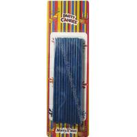 Quality Emit Flake Dark Birthday Sparkler Candles Clavate Stick And Thin 24 Pcs , 11 Grams wholesale