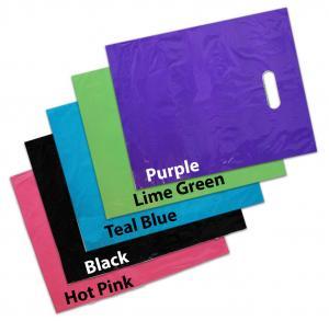 China LDPE Material Custom Die Cut Plastic Bags Gravure Printing High Durability wholesale