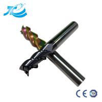 China Solid Carbide End Mill DLC Coated High Cutting Performacne Colorful Coated For Aluminum 1-16mm wholesale