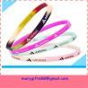 China free design thin baseball silicone bracelets wholesale
