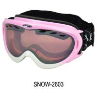 China New Design professional Snow Ski Goggles , skiing goggles with Custom Painted Tpu Flexible Frame on sale