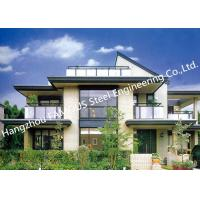 China Prefab House Light Steel Villa Metal Buildings With Welded Frame Easy Construction wholesale