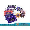 China Aluminum Dedicated Casino Poker Chip Set With UV Anti - Release Function wholesale