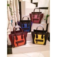 China Hotest New arrival Designer women handbag,Original real leather fashion smile face female wholesale