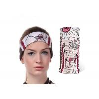 Buy cheap Soft Touch Fishing Neck Scarf Water Droplets Pattern Low Fiber Properties Absorb from wholesalers
