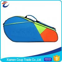China Adjustable Shoulder Strap Custom Sports Ball Bag Durable Zipper For Badminton wholesale