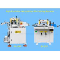 China Hydraulic Industrial Flat Bed Die Cutting Machines With Punching , Hot Stamping wholesale