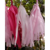 Quality Tissue Paper Tassel Garland Kit - Pink Party for sale