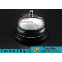 Casino Dedicated Stainless Steel Call Bell For Casino Poker Table Games for sale