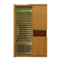 China Solid Wood Home Far Infrared Sauna Room 1800watt, Touch Control Panel wholesale