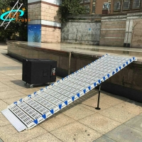 China 500KG Portable Aluminum Alloy Roll Stair For Outdoor Event wholesale