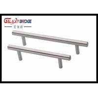 China Plastic Kitchen Cabinet Drawer Pulls , D Handles Pull Knobs For Kitchen Cabinets Pearl Silver wholesale