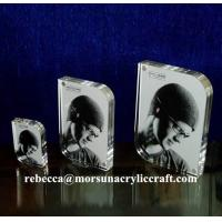 China Different size clear magnetic picture frame with rounded corner wholesale