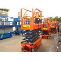 China Movable Scissor Lift Extended Platform Hydraulic Aerial Access Platform wholesale