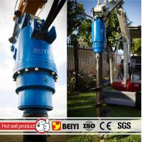 China Auger drilling machine BYS3000 Excavator ground hole drill hydraulic auger drilling equipment used on excavator wholesale
