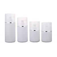 China Lotion 300ml 400ml 500ml HDPE Plastic Bottles With Cap wholesale