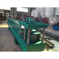 China Metal C And Z Purlin Roll Forming Machine / Cold Roll Forming Machine wholesale