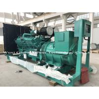 China Cummins KTA19 Series Open Diesel Genset with ABB switch , 440KW Standby Power wholesale