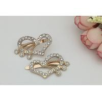 China LHZ426 Heart Decorative Shoe Clips , Hardwearing DIY Shoe Clips Exquisite wholesale