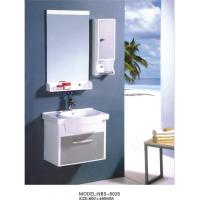 China PVC bathroom vanity / wall cabinet / hanging cabinet / white color for bathroom 60 X49/cm wholesale