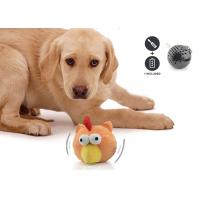 China Lifelike Battery Operated Plastic Pet Toy Ball Multi Colors For Boredom wholesale
