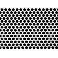 China 3mm Thick  Aluminum Perforated Metal , Powder Coated Perforated Alum Sheet AA1100 wholesale