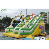 China Jungle Commercial Inflatable Slides wholesale