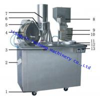 Quality high quality 304stainless steel Semi-Auto Capsule filling machine china manufactory for sale