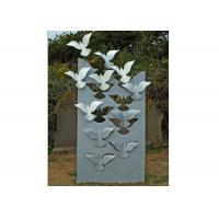 China Flying Large Metal Lawn Sculptures Animal Statue Wall Decoration Modern wholesale