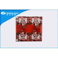 Buy cheap Four Cup Yogurt Plastic Laminated Lidding Film Low Gas And Water Permeability from wholesalers