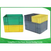 Quality PP Plastic Logistic Euro Stacking Containers For Food Clothes Auto Medical 21.2L wholesale