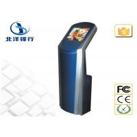 Quality Indoor Interactive Free Standing Kiosk Bill Payment Machine Touchscreen Kiosk for sale