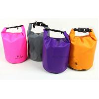 China Custom Color Waterproof Dry Bags Cylinder 5L Tarpaulin With Heat Seal Technique wholesale