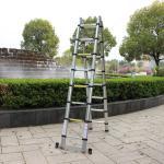 Aluminium Telescopic Extension Double side 3.2m 3.8m 4m 5m 6m Folding Ladder