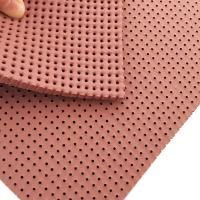 Buy cheap Washing liquor resistance perforated silicone foam pad for cloth ironing from wholesalers