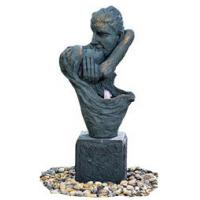 """Quality 36"""" Kissing Lover Antique Color Copper Water Fountains In Magnesia Material for sale"""