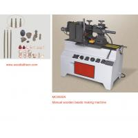 Quality Manual wood lathe process round head of small wood for sale