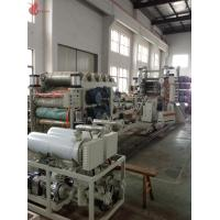 Quality High Speed Pvc Calendering Machine , Pvc Film Calender Machine Smooth Running wholesale