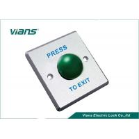 Buy cheap 86 * 86 * 20mm Green Mushroom Push Button NO / COM With 1 Year Warranty from wholesalers