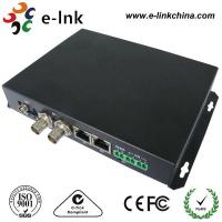China 75Ω BNC Connector HD SDI Video To Fiber Optic Converter Single Mode Or Multimode on sale