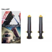 Buy cheap Single Way 3 Bore Multistage Hydraulic Ram for Dump Truck/Trailer from wholesalers